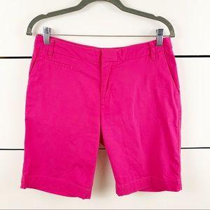 PATAGONIA Bermuda Shorts Hot Pink Women's Size 8